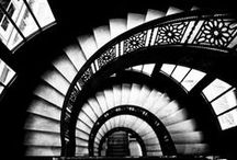 STAIRWAYS / Stairs going up and Stairs going down. / by REMEMBER WHEN..... Jimella Walker
