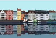 copenhagen / københavn / Illustrations, graphics and photographs....how I, and others see this beautiful city.