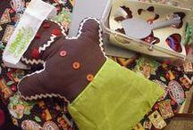 Pre-K ~ Gingerbread Theme