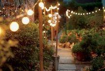 Garden insp. / Garden inspiration.