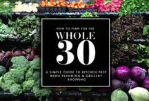 Whole 30 / by Carrie // cue the confetti