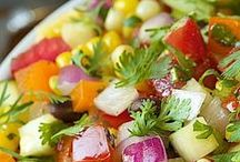 Scrumptious Salads / by Cherished Bliss