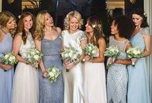bridesmaids / Bridesmaids gifts, dresses, colours and more.