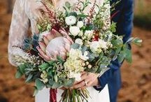 wedding flowers / Bouquets, crowns and gorgeous blooms for your wedding day.