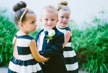 flower girls & page boys / Sweet flower girls, page boys and ring bearers add a touch of innocence and fun to most weddings. They need some gorgeous threads to feel a part of the celebration too.