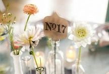 wedding decor / Wedding reception decor ideas, DIY projects, lighting and inspiration.