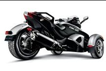 Three wheeled / Not 2, not 4... on the streets with 3 wheels. Mainly Can Am Spyder ...