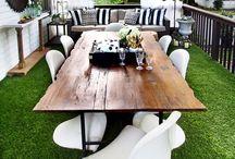 Simple Patio Designs / Quick and simple DIY patio ideas