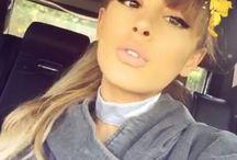 Ariana Grande Snapchat