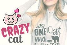 EU: Crazy Cat Ladies! / Awesome and unique designs - all created and designed by one artist for crazy cat ladies across the globe! All designs are available on a multitude of products, with international shipping, and a 30 day return and exchange policy! Meow! #cat #cats #catlady  EU: https://muumau.spreadshirt.fi  USA: https://waldogs.spreadshirt.com