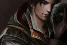 Ezio Auditore da Firenze / Ezio ingresó en la Orden de los Asesinos con la misión de vengar la muerte de su padre y hermanos, asesinados por los Templarios.