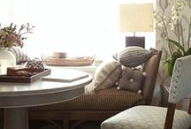 Get Cozy / Breathe deep and retreat to a cozy space in your home. Use these ideas to create a serene setting of your own!