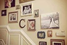 Gallery Walls / Showcase your pictures in a fun way!