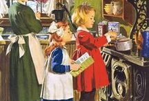 Norman Rockwell / It's what he painted rather than how he painted that is so appealing, I think.