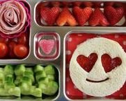 Bento Lunches - Valentine's Day / Love is in the lunch box!