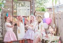 Love: Parties / Parties inspiration from detail shots to what it's all about!