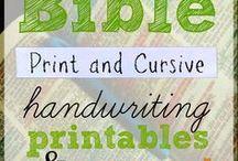 Homeschool: Cursive Handwriting