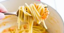 Pasta Dishes / The BEST recipes for pasta and pasta sauces! #pasta #nuddeln #sauce #pesto #spaghetti #vegetarian #recipe #rezepte #cooking #Italian