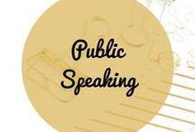 Public Speaking / Public speaking presentation, public speaking events, public speaking tips, strategies, confidence, speaking engagements.