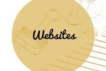 Websites / Website creation, branding, design, website copy, website layout, website content, website inspiration.