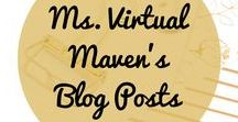 The Ms. Virtual Maven Blog For Entrepreneurs / This board is for the blog posts from my Ms. Virtual Maven Blog where I show entrepreneurs how to improve your business using online service providers, such as Virtual Assistants, Social Media Managers and Strategists, Pinterest Strategists, and Digital Marketers! Learn how to grow / expand your business and gain back time in your life.