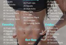 Fitness: Exercises / Push♀️