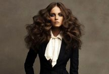 Women's Hair Inspiration  / Great hair inspiration for women... cut, color, style, accessories, attitude...