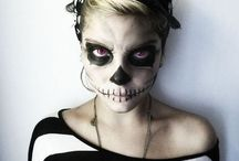 BEAUTIFIED-Make Up and Such / Tutorials, how to's, colors to make the eyes pop, halloween ideas, cleaning utensils...   / by Sara Whalen
