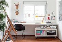 workspace / by Lori Clark