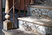 Lépcsők, létrák...