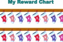 Christmas reward charts and behavior charts