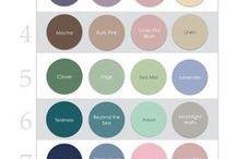 Wedding Palettes / wedding color palettes