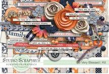 Digiscrap - Scrapyrus Faves / Scrapyrus Designs has exploded into the digital scrapbooking scene!  Her style is classy, trendy, beautiful and I am a definite fan!