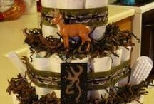 diaper cakes / by Alisha Butler