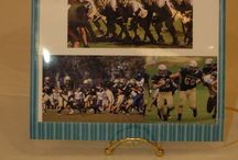 Football Sr. nite/banquet ideas / Ideas for gifts, decorations, centerpieces, etc