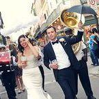 New Orleans/ Mardi Gras Themed Wedding / Shabs Wedding