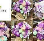 Soap bouquet Mydlová kytica / Mydlové kytice sú vyrobené z ručne robených prírodných mydiel.