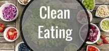 CLEAN EATING / Clean eating is a way of life ... not just for dieting.  Eating clean contributes to your overall health and vitality.  On this board you will find clean eating recipes, clean eating programs, clean eating menus, and a ton great advice about eating clean, and eating whole foods.