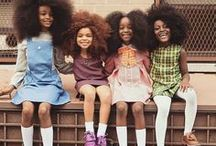 Natural Hair Styles for Kids / Looking for cute natural hairstyles for black children? Check out these adorable styles on these good-looking natural kids. Many of the styles on this board are easy to do, and there are also some elaborate hairstyles that involve braids and twists. Need help creating a good regimen for kids? Visit www.naturalhairqueen.net/natural-hairstyles-kids/ for easy ideas for maintaining children's natural hair.