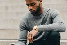 Black Men Fashion / Looking for urban, casual, or summer looks for guys? You'll find black men fashion swag here. This board also has the latest haircuts and stylish looks for black men with beards. Visit www.naturalhairqueen.net to learn the secret to healthy growth and long natural hair.