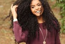 Mixed Girls Hairstyles / Are you a mixed girl with curly hair? On this board, you'll find plenty of hairstyles from women with biracial or multi-ethnic heritage. Visit www.naturalhairqueen.net to learn the secret to healthy growth and long natural hair.