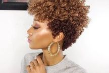 Haircuts for Natural Hair / Looking for the best haircuts for natural hair? Here, you will find a wide variety of hairstyles, such as the tapered cut for short hair. Many of these creative styles are for round faces, but there are some for square, oval, long, and heart-shaped faces too. Do you want tips on getting longer hair? Visit www.naturalhairqueen.net to learn the secret to healthy growth and long natural hair.