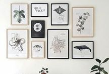 wall  // inspiration / art, illustrations, wall paper and photography