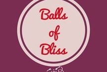 Balls of Bliss / Little balls of divine goodness! Truffles, protein balls, cake pops, some are sugar free, gluten free, raw, paleo. Find a ball to make your day!