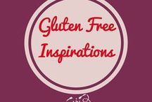 Gluten free ideas for home cooks / Gluten free cooking recipes for dinner, snacks, breakfast, lunch and desserts, cookies, cakes.