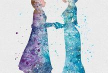 Elsa e Anna❤️❤️