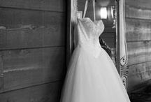 The Wedding Dress / Check out these inspiring photographs and helpful tips before shopping for a bridal gown!  There is great information on finding a shape that fits your body and a style that fits your personality!  So many beautiful wedding dresses!