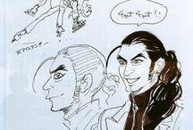 YOI Character Design etc...