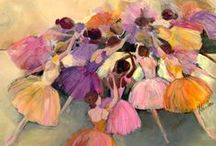 Ballerina Love / by Kristina Bailey Art and Design