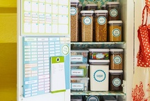 Home: pantry organization / by Linda Perkins